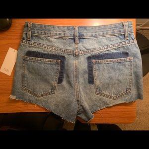 Hermosa Beach High Rise 2-tone shorts/size 26